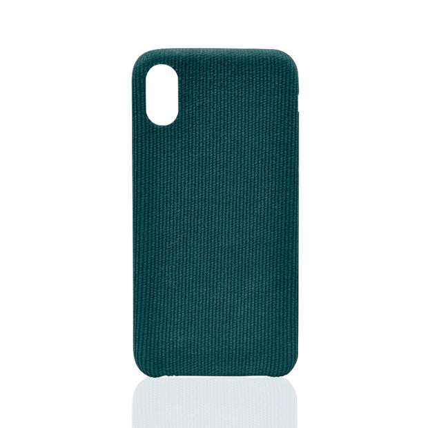 Blue Corduroy iPhone X Case