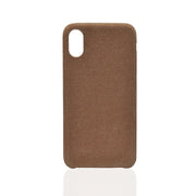 Brown Corduroy iPhone X Case
