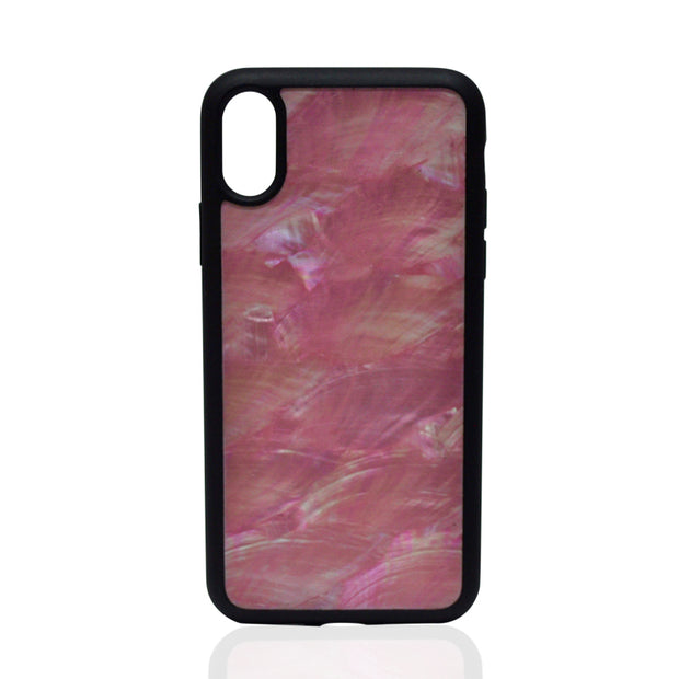 Natural Pink Seashell iPhone Case