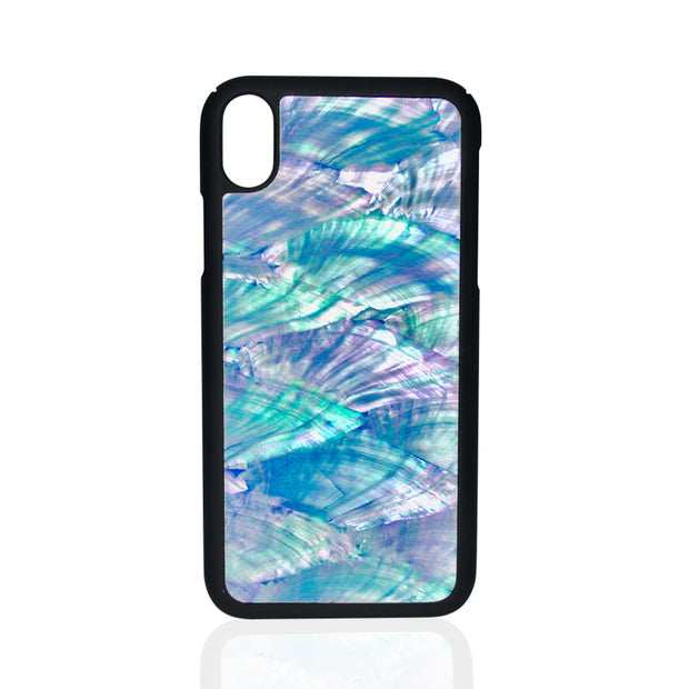 Natural Blue Seashell iPhone Case
