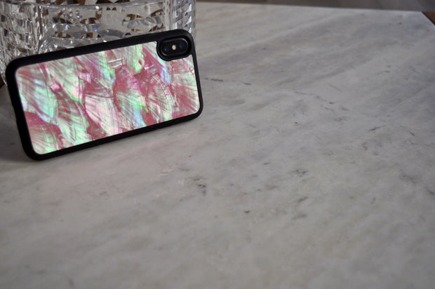 Natural Pink Seashell Environmental Case