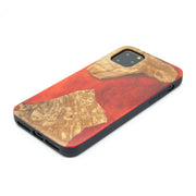 Natural Wood and Resin Phone Case