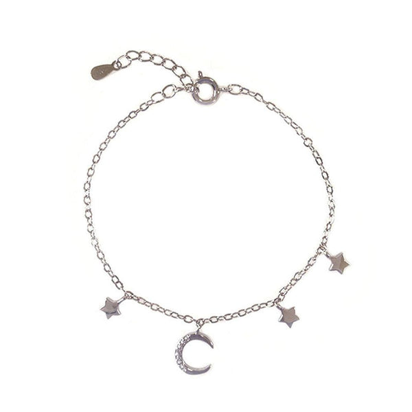 Celestial Bracelet in sterling silver by Ma Petite Mer Jewelry