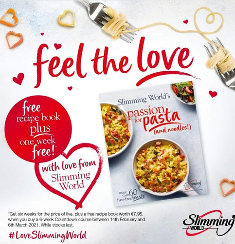 Join Slim With Pat And Slimming World - Six Weeks Membership (One Week FREE AND FREE Cook Book Offer)
