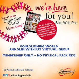 Join Slim With Pat VIRTUAL GROUP (*** Service Finishing End Sept ***) And Slimming World - New Membership With No Members Pack Required