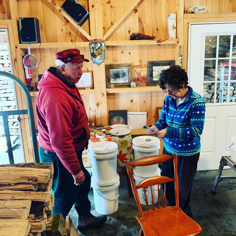 Making Maple Syrup for Saratoga Maple and Minerva Maple