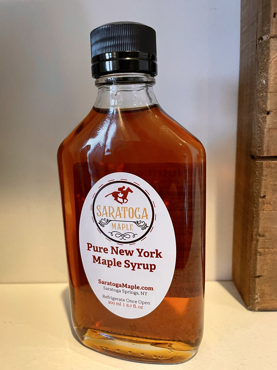 Maple Syrup - Glass Flask