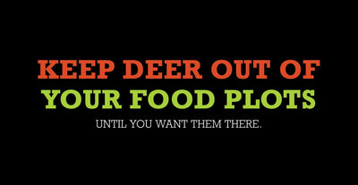 Keep Deer Out Of Your Food Plots