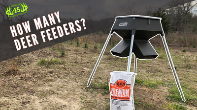 How Many Deer Feeders Should You Have On Your Property?