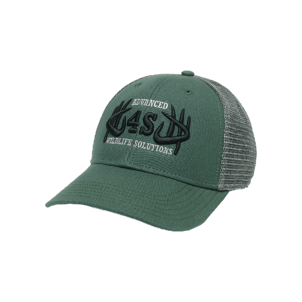 4S Premium Trucker Hat - Forest Green - 4S Advanced Wildlife Solutions