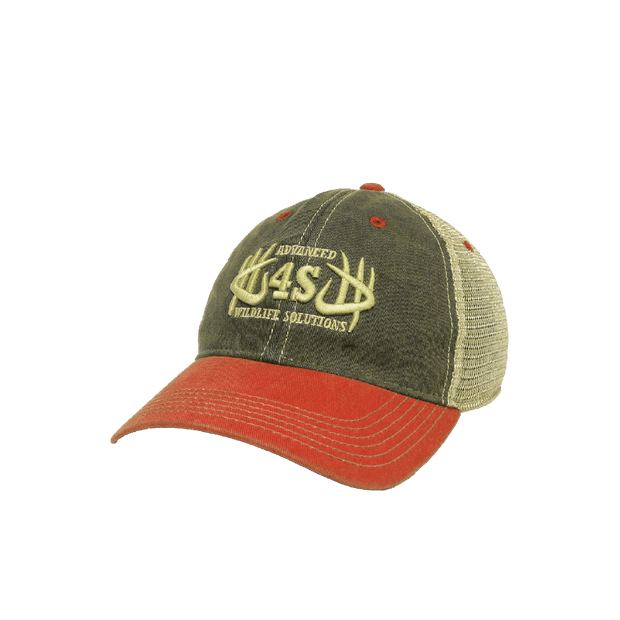 AWS Vintage Hat - Tri-Color - 4S Advanced Wildlife Solutions
