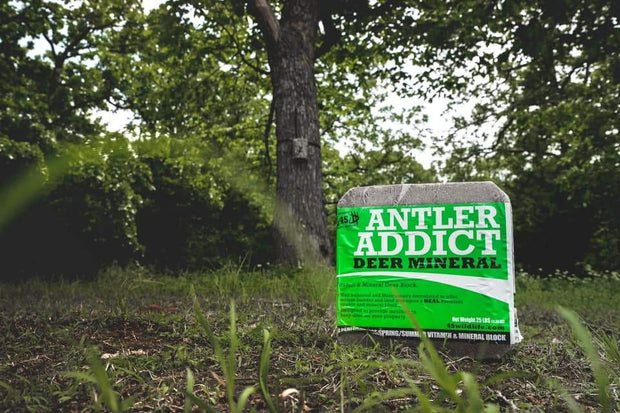 Antler Addict Mineral Block - 4S Advanced Wildlife Solutions