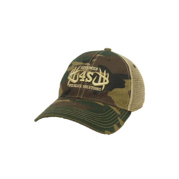 AWS Vintage Hat - Camo - 4S Advanced Wildlife Solutions