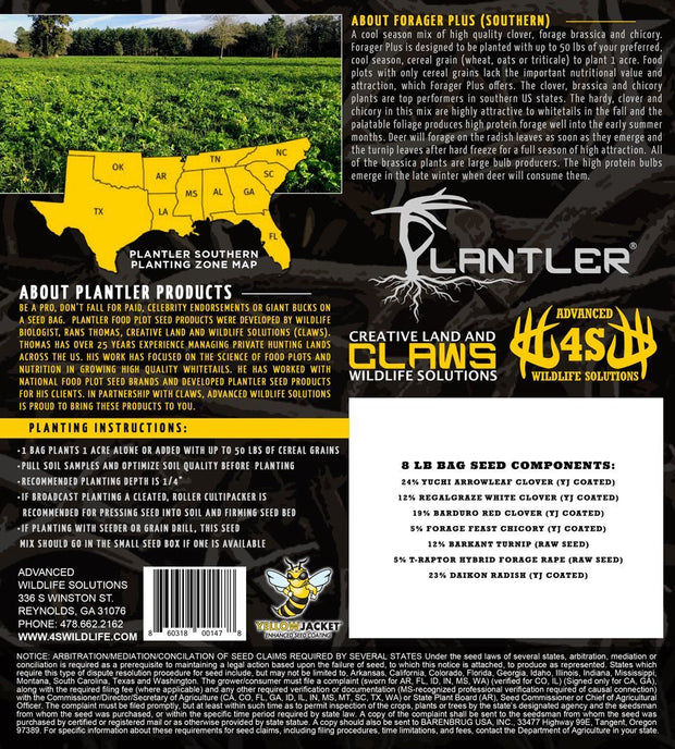 Plantler Forager Plus - 4S Advanced Wildlife Solutions