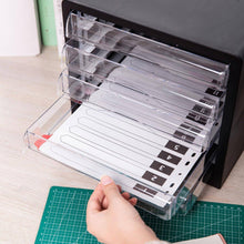 Load image into Gallery viewer, DELI PLASTIC 5-DRAWER FILE CABINET