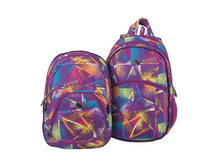 Load image into Gallery viewer, BACKPACK 2u1 PURPLE LASER