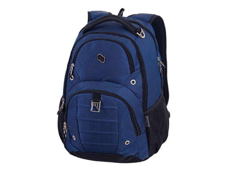 BACKPACK SOLID DARK BLUE