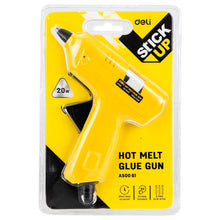 Load image into Gallery viewer, DELI HOT MELT GLUE GUN 20W, EUROPE STANDARD PLUG