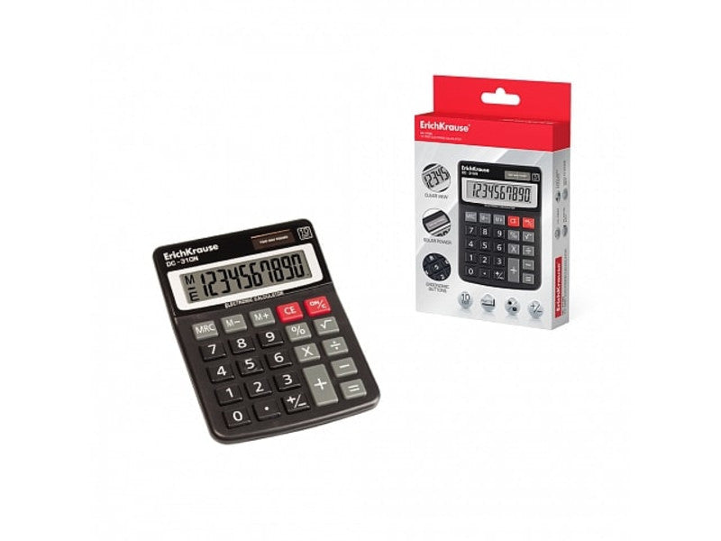 ERICHKRAUSE DESK ELECTRONIC CALCULATOR 10-DIGITS DC-310N