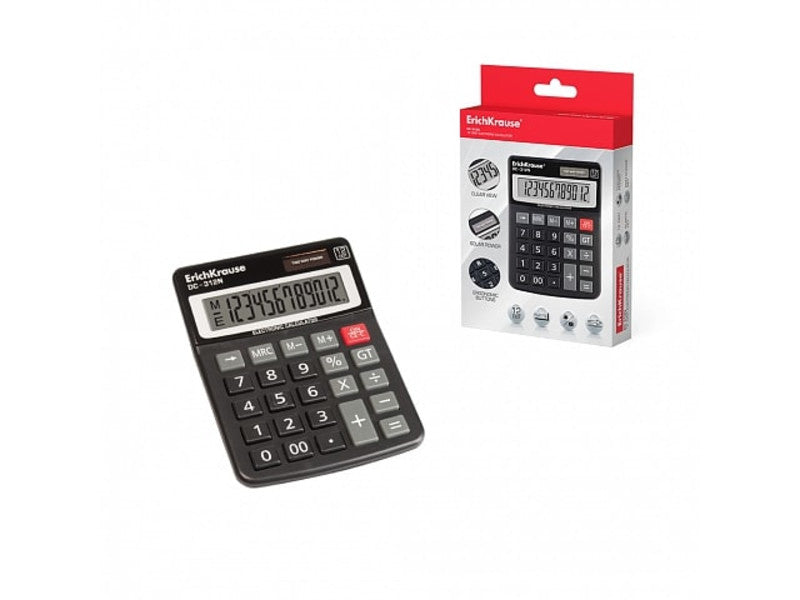 ERICHKRAUSE DESK ELECTRONIC CALCULATOR 12-DIGITS DC-312N