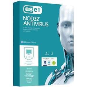 ESET NOD32 ANTIVIRUS 1 USER FOR 1 YEAR