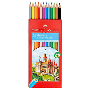 FABER-CASTELL -12 Color Pencils