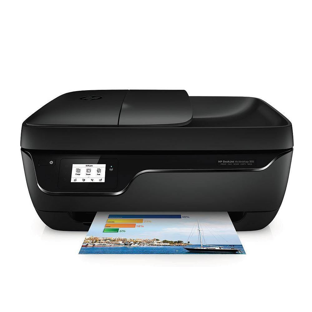 HP PRINTER 3835 AIO DESKJET WITH FAX