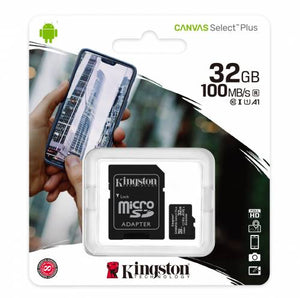KINGSTON MSDHC CL10 16GB-64GB