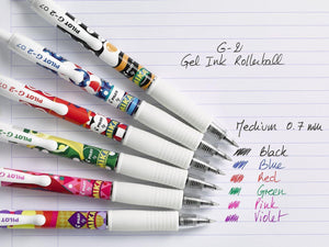 PILOT G-2 - GEL INK ROLLER 0.7 - MIKA LIMITED EDITION