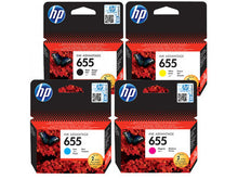 Load image into Gallery viewer, HP INK CARTRIDGE 655