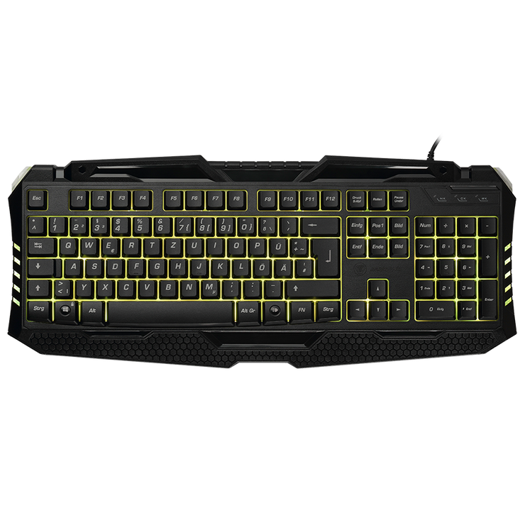 PC Gaming Tastatur Keyboard snakebyte