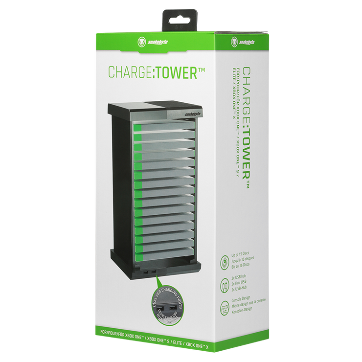 Xbox One Charge Tower Chargetower Regal USB Disk snakebyte