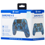 SONY PS4 Wireless Camo Blue Controller snakebyte