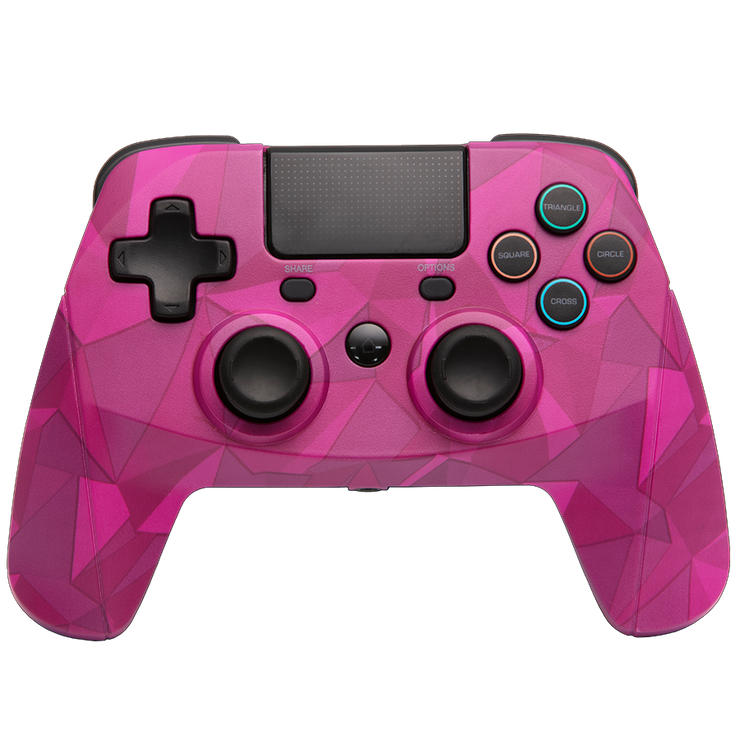 SONY PS4 GamePad Game Pad 4 S Wireless Bubblegum Camo Camouflage snakebyte