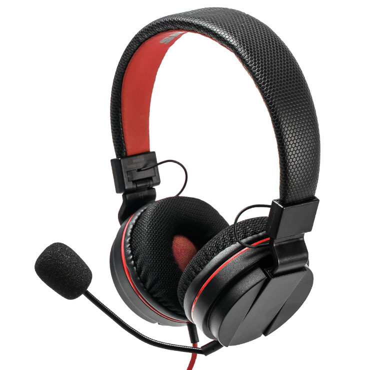 Nintendo Switch Headset S Kopfhörer Red Black snakebyte