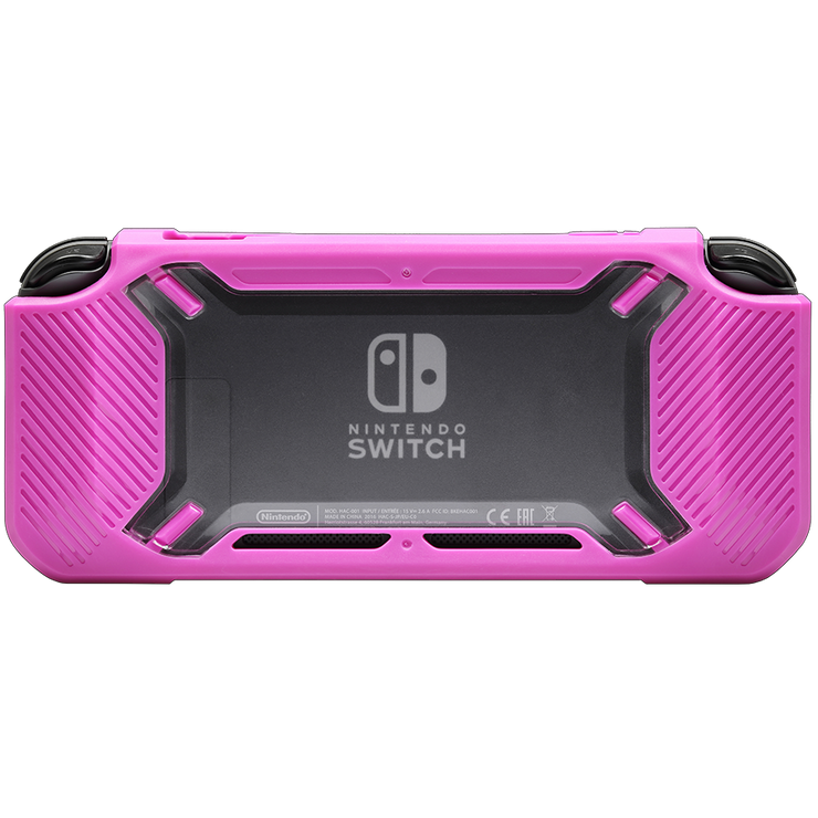 Nintendo Switch Switch Tough Case Black Strawberry Pink snakebyte