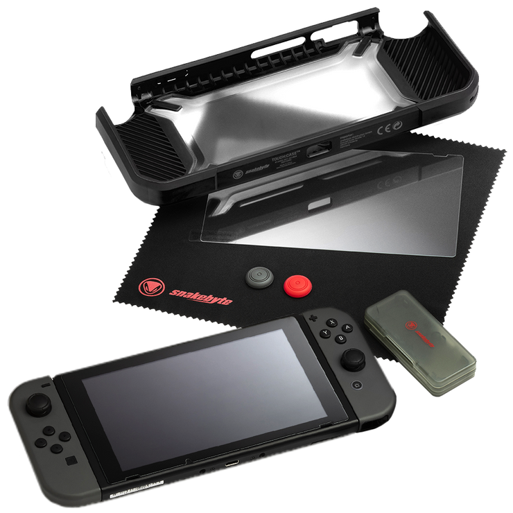 Nintendo Switch Tough Kit Black snakebyte
