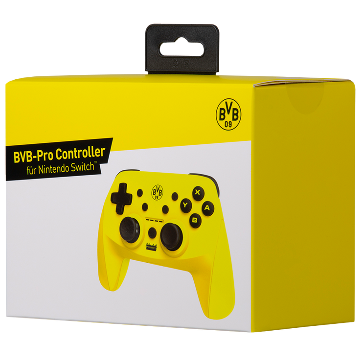 BVB Borussia Dortmund Gaming Pro Controller Switch snakebyte