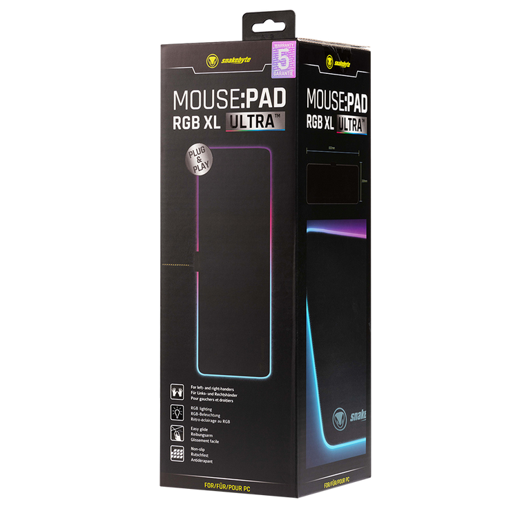 PC Mousepad Ultra XL RGB snakebyte