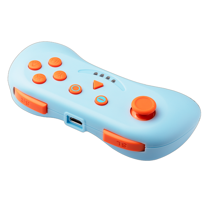Nintendo Switch MULTI PLAYCON BLUE AND ORANGE Controller snakebyte