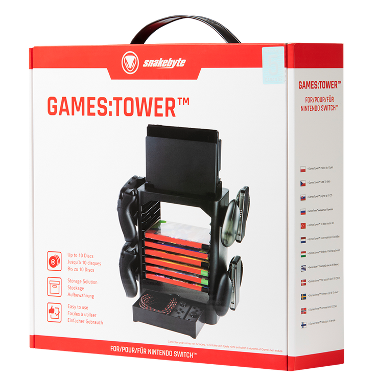Nintendo Switch GamesTower Games Tower snakebyte