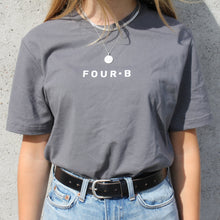 Load image into Gallery viewer, GREY FOUR·B T-SHIRT
