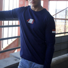 Load image into Gallery viewer, NAVY BLUE DEFINE LONG SLEEVE TEE