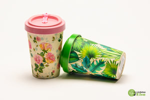 Thermos à la fibre de blé biodégradable