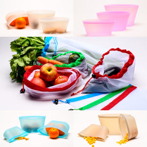 Sac silicone conservation alimentaire