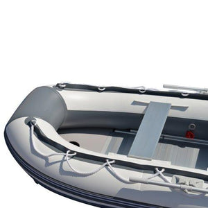 BRIS 10.8 ft Inflatable Boat Inflatable Rafting Fishing Dinghy Tender Pontoon Boat