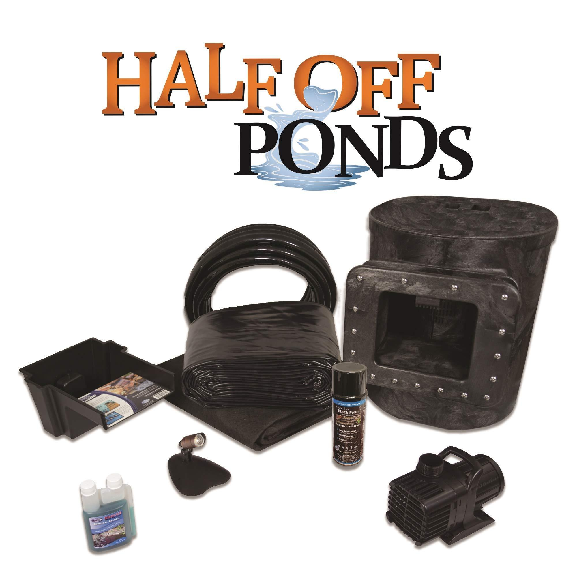 HALF OFF PONDS Simply Ponds 1200 Water Garden and Pond Kit