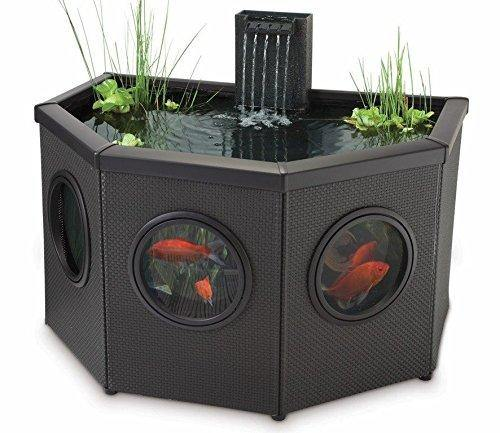 Pennington Aqua Garden Raised Window Half Moon Pool Kit