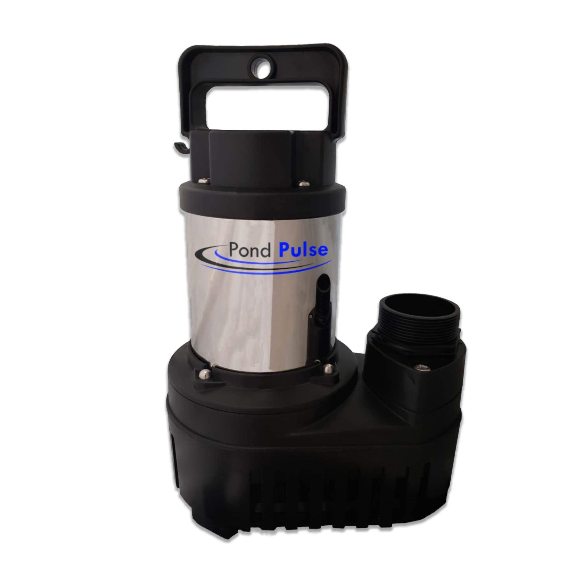 Pond Pulse 4,200 GPH Hybrid Drive Submersible Pump