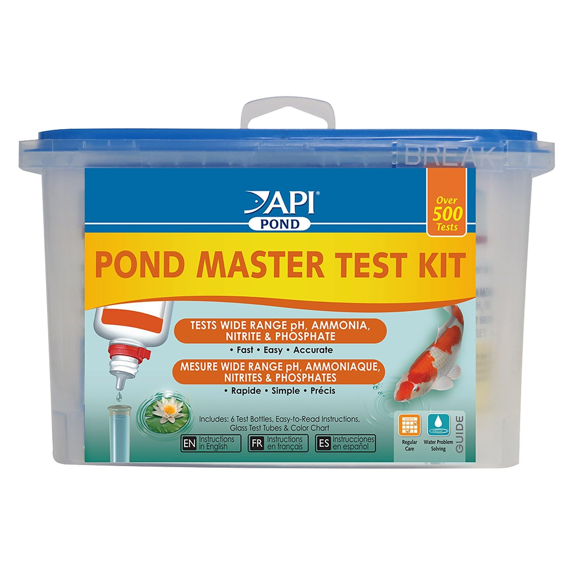 PondCare Master Liquid Test Kit (6 Bottle Kit)